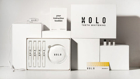 Holo Teeth Whitening Kit Inclusions