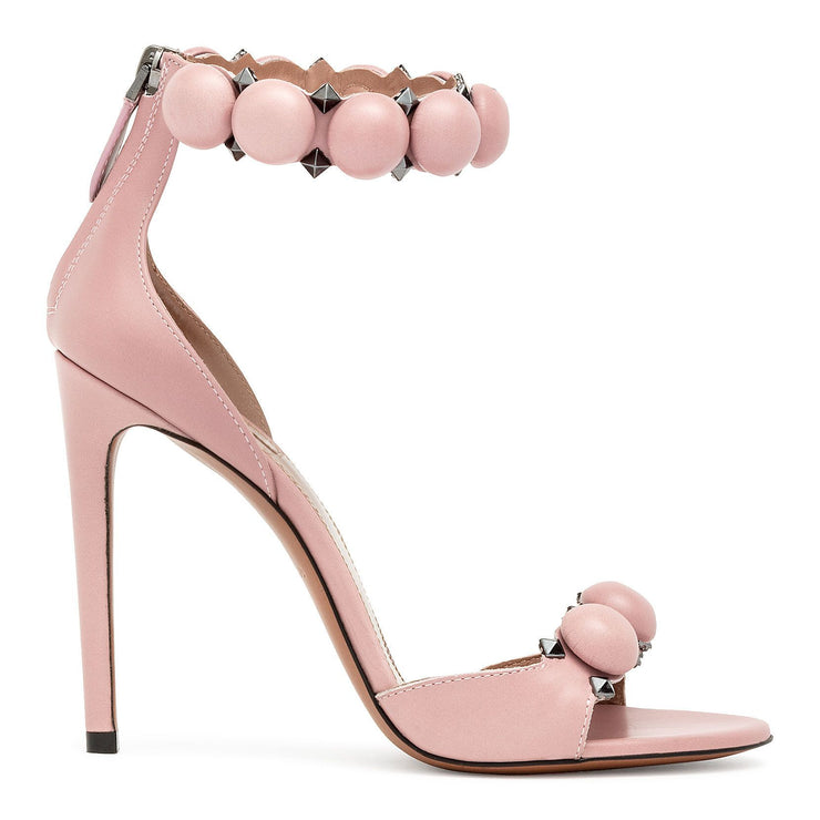 Dusty pink Bombe sandals