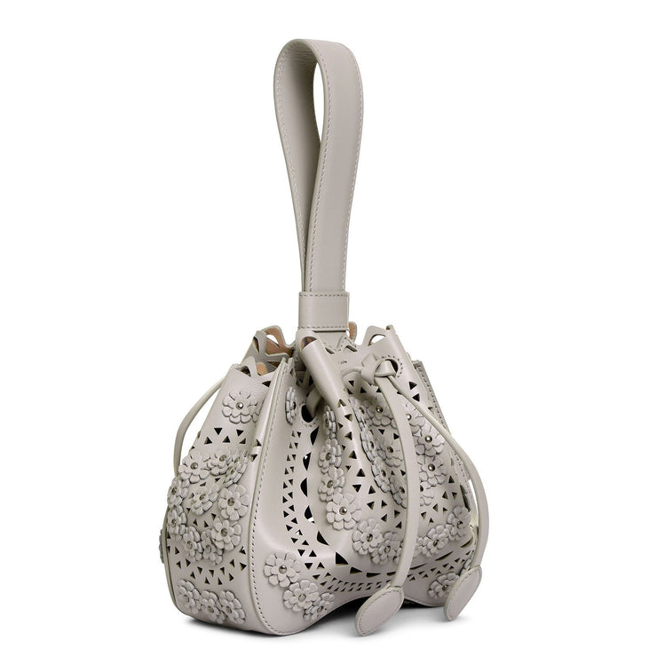 Rose-Marie 16 light grey bucket bag