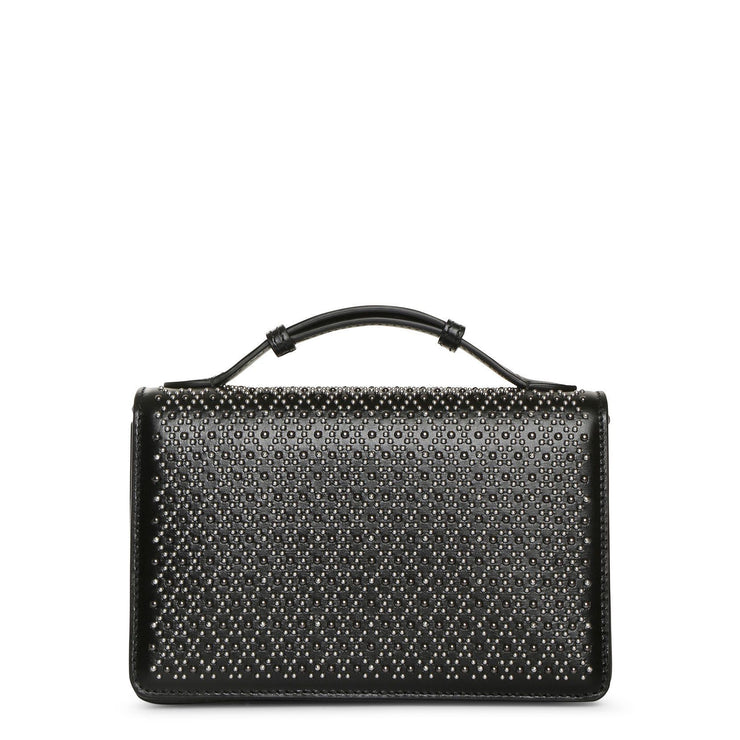 Franca Small black studded bag