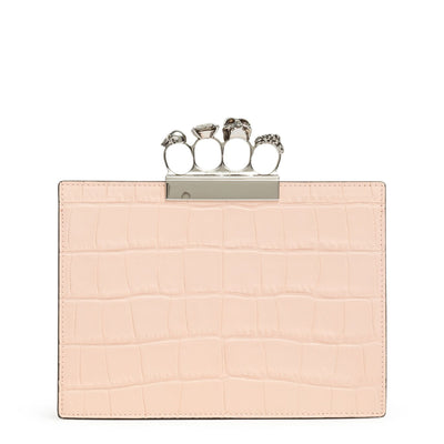 Four Ring Pouch blush clutch