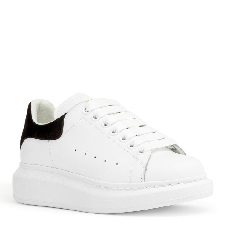 White and black classic sneakers