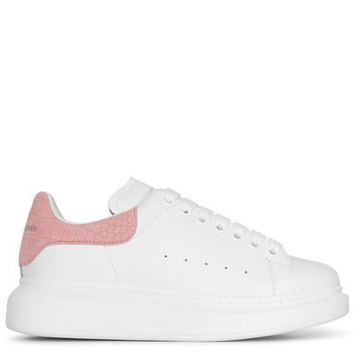 White and rose quartz classic sneakers
