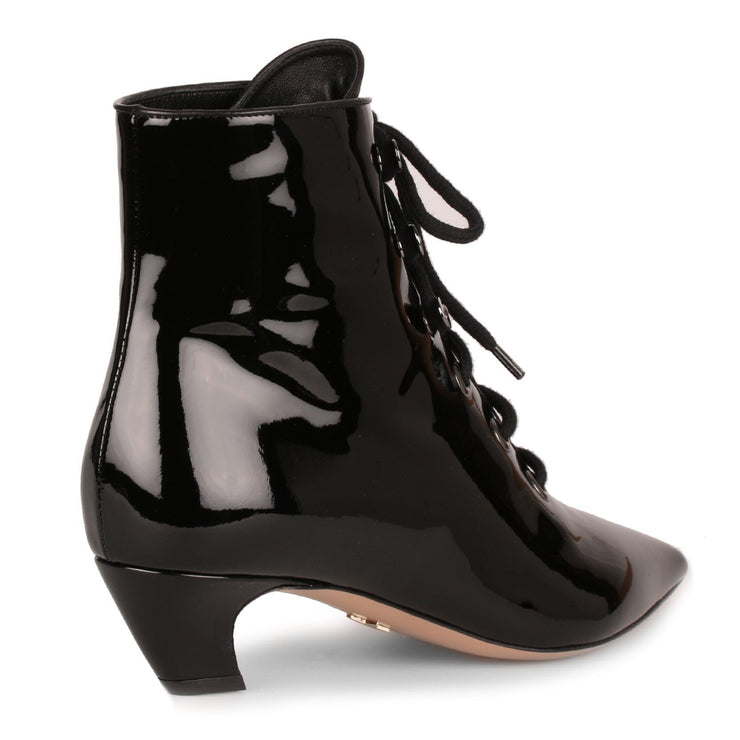 I-Dior black patent boot
