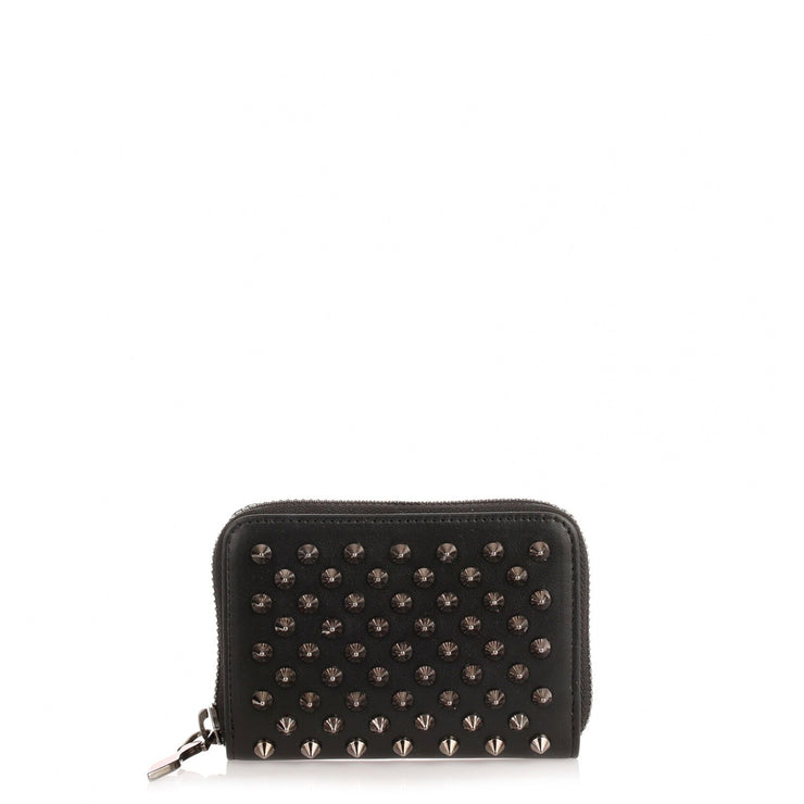 Panettone black spikes coin purse