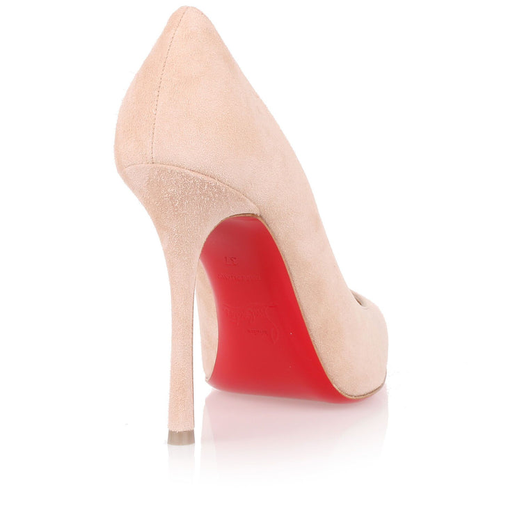Decoltish 100 powder suede pump