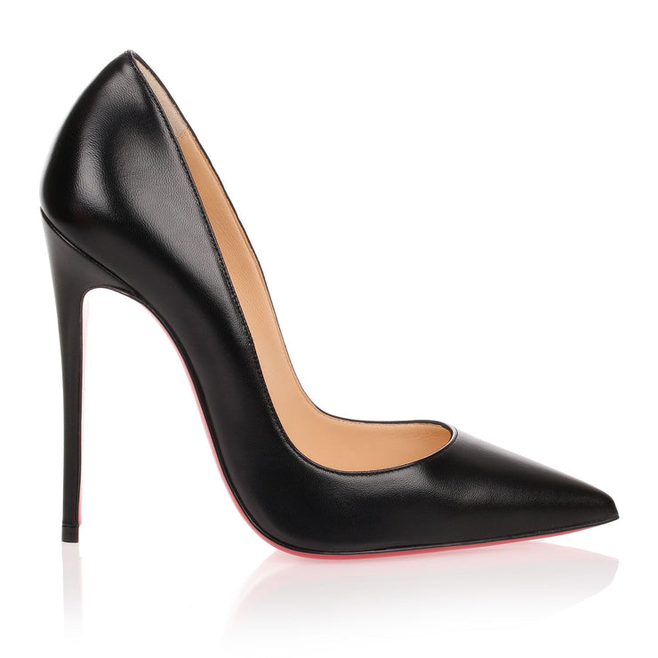 So Kate 120 black nappa leather pump