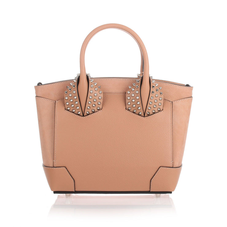 Eloise small beige leather bag