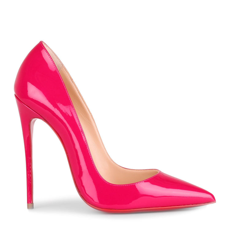 So Kate 120 patent pink pump