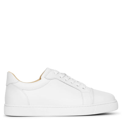 Vieira white leather sneakers