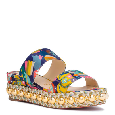 Janitag 60 Satin Multicolor Sandals