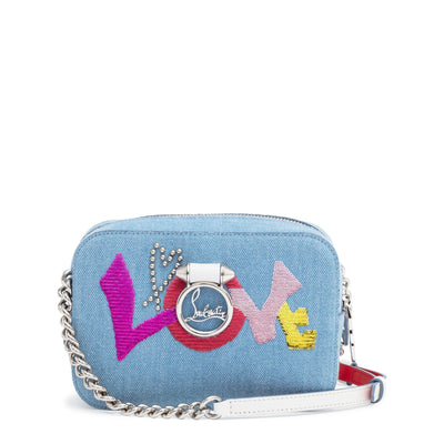 Rubylou mini denim shoulder bag