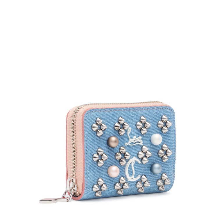 Panettone Pearl Blue Denim Coin Purse