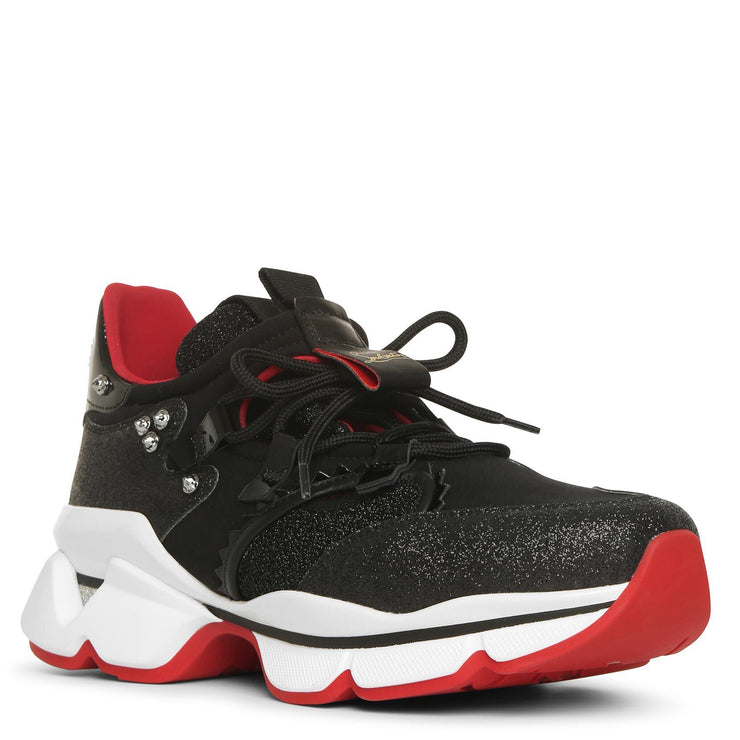Red Runner Donna black sneakers
