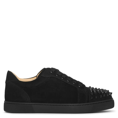 Vieira Spikes black suede sneakers
