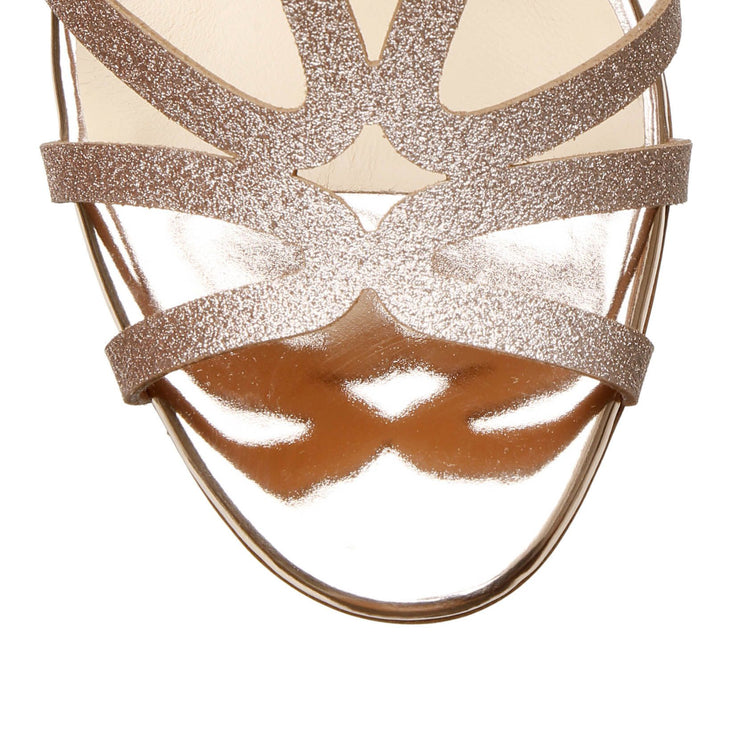 Renee 85 glitter courtisane sandals