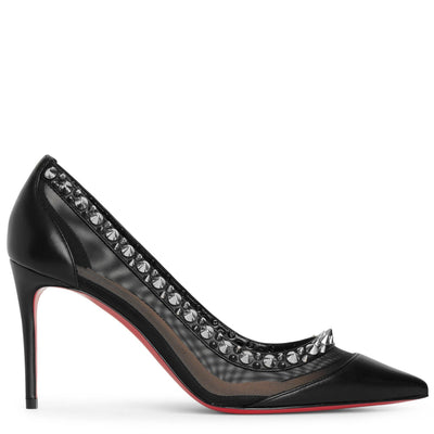 Galativi spikes 85 black pumps