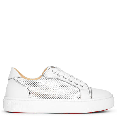 Vieirissima perforated leather sneakers