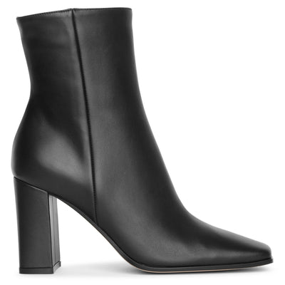 Square toe 85 ankle boots