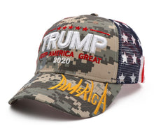 Load image into Gallery viewer, Newest Trump 2020 Baseball Mesh Cap Campaign Make America Great Trump President Hat