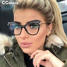 Load image into Gallery viewer, CCSPACE 45532 Ladies Cat Eye Sexy Glasses Frames Men Women Brand Designer Optical EyeGlasses Fashion Eyewear Computer Glasses - Y O L O Fashion Store