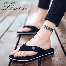 Load image into Gallery viewer, 2019 New Arrival Summer Men Flip Flops High Quality Beach Sandals Anti-slip Zapatos Hombre Casual Shoes Wholesale A10