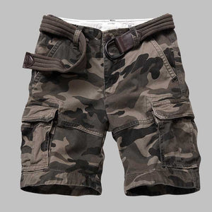 Premium Quality Camouflage Cargo Shorts Men Casual Military Army Style Beach Shorts Loose Baggy Pocket Shorts Male Clothes - Y O L O Fashion Store