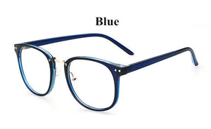 Newest Oversize Glasses Frames Metal Leg Vintage Eyeglasses Frame Women Men Plain Glasses Fashion Eyewear For Woman man