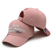 Load image into Gallery viewer, KOEP Donald Trump 2020 Cap Camouflage USA Flag Baseball Caps KEEP America Great Snapback President Hat Embroidery Drop Shipping