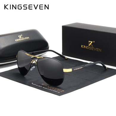KINGSEVEN Brand 2020 Men's Glasses Driving Polarized Sunglasses Men And Women Aluminum Fashion Eyewear Gafas De Sol Shades
