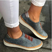 Load image into Gallery viewer, Slip-On Sneaker Woman Ladies Casual Shoes Comfortable Lady Loafers Women''s Flats