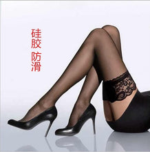 Load image into Gallery viewer, Accessories  2019 new Women stockings Girls Female sexy stocking hose appeal to fix the leg show thin lace sexy stockings hose - Y O L O Fashion Store