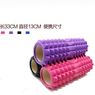 EVA Yoga Column Fitness Equipment Pilates  Foam Roller blocks Train Gym Massage Grid Trigger Point Therapy Physio Exercise - Y O L O Fashion Store