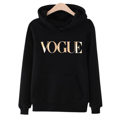 2020 New VOGUE Women Printed pullover Sweatshirt Long Sleeve pullover Hoodies Tops Autumn Winter Femme Loose pullover Hoodies - Y O L O Fashion Store