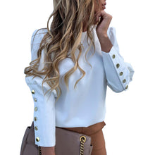Load image into Gallery viewer, 2020 New Women Fashion Blouse Women's Shirt Pineapple White Long Sleeve Blouses Woman Classic Streetwears Office Lady Pullovers - Y O L O Fashion Store