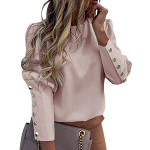2020 New Women Fashion Blouse Women's Shirt Pineapple White Long Sleeve Blouses Woman Classic Streetwears Office Lady Pullovers - Y O L O Fashion Store