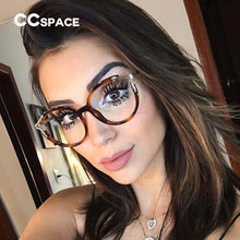Load image into Gallery viewer, 45103 Lady Metal Hollow Round Glasses Frames For Women Cat Eye Brand Designer Optical EyeGlasses Fashion Eyewear
