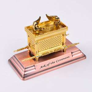 Israel Judaism Alloy Ark Home Classical Decoration Christian Supplies Party Gift Gold Lamp Table Ark Of The Covenant - Y O L O Fashion Store