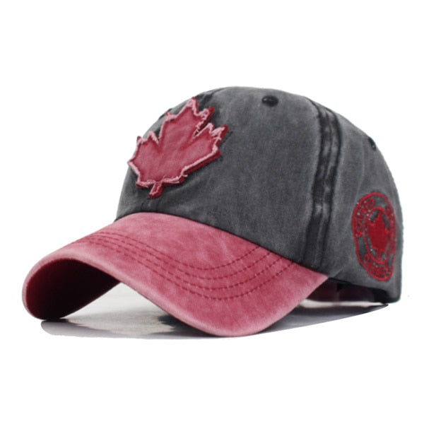 Cotton Gorras Brand Canada Flag Men Baseball Cap Of Canada Hat Mens Snapback Bone Adjustable Wonmen Baseball Hat Snapback Hat - Y O L O Fashion Store
