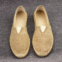 Load image into Gallery viewer, Plus Size 35-45 Women Sewing Flax Shoes Slip on Loafers Casual Shoes Woman Espadrilles Hemp Canvas Flat Shoes - Y O L O Fashion Store