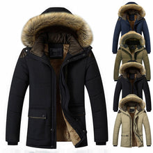 Load image into Gallery viewer, Down Jacket Men Winter Jacket Men Fashion Thick Warm Parkas  Down Coat Casual Man Waterproof Down Jacket