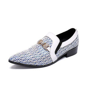 High Quality Man Wedding Party Prom Dress Leather Oxfords Shoes 2018 Male Fashion Spring Autumn Italian Derby Oxfords Shoes