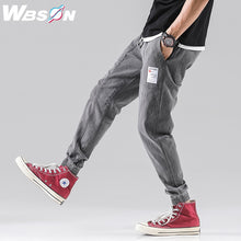 Load image into Gallery viewer, Wbson Men Jeans Men Fashions Men Baggy  Slim Jeans Men  Jogger Jeans Jeans Men Cargo Jeans SYG2307 - Y O L O Fashion Store