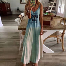 Load image into Gallery viewer, 2020 Women Casual Loose Strap Dress Colors Summer Sexy Boho Bow Camis Befree Maxi Dress Plus Sizes Big Large Dresses Robe Femme - Y O L O Fashion Store
