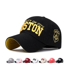Load image into Gallery viewer, Liam Boston Baseball Cap Men's 3D Embroidery Cotton Summer Gorra Hombre Women's Snapback Trucker Dad Hat 2020 - Y O L O Fashion Store