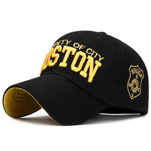 Liam Boston Baseball Cap Men's 3D Embroidery Cotton Summer Gorra Hombre Women's Snapback Trucker Dad Hat 2020 - Y O L O Fashion Store