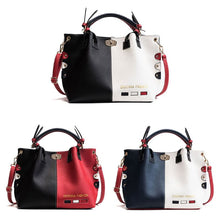 Load image into Gallery viewer, Fashion Women Leather Shoulder Bag Tote Purse Crossbody Messenger Handbag Top Handle Bags
