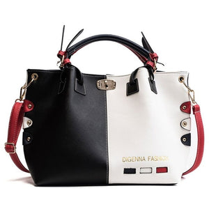 Fashion Women Leather Shoulder Bag Tote Purse Crossbody Messenger Handbag Top Handle Bags