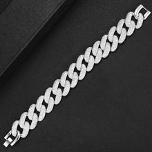 Load image into Gallery viewer, GODKI Luxury Square Link Chain Bracelets Bangles Cubic Zircon CZ Vintage Bohemian Cuff Bracelets For Women Femme Fashion Jewelry - Y O L O Fashion Store