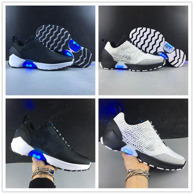 New Hyper 1.0 Mag  Future Light UP BASKETBALL Sports Shoes for Mens Adapte 1 Black White Fashion Designer Sneakers 40-46